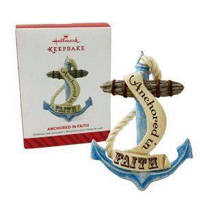 Anchored in Faith Hallmark Keepsake Ornament